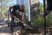 Breaking ground at the LV Community Healing Garden