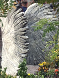 Angel Wing Dedication