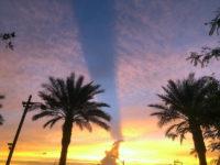 Sky over the LV Healing Garden Dedication