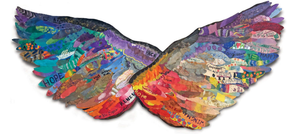 The Spread Your Wings Project and Wingman Art Project
