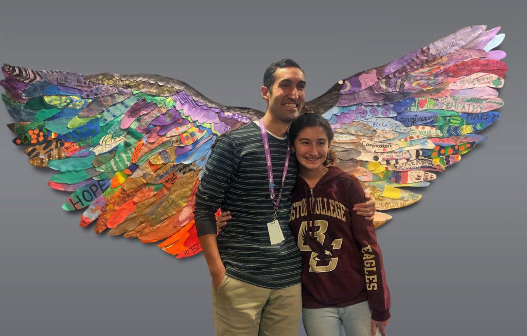 Joel Pardalis and his daughter, Kylie